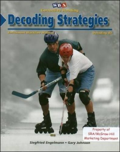 Corrective Reading Decoding Strategies B2 Blackline Masters