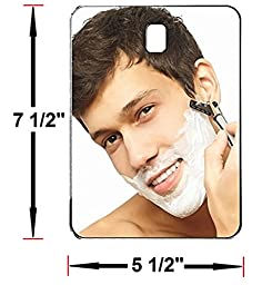Fog Free Shower Mirror ~ Large Size Premium Fogless for No Fog Shaving ~ Anti Fog Mirror INCLUDES 3M Command Hook for Bath ~ Won\'t Fall ~ Surface Safe Hanging ~ Movable by Shave Pal