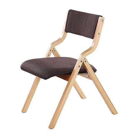 SH-Chairs Sillas de Madera para sillas Plegables Silla de ...