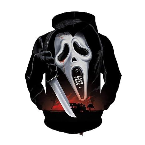 Amazon.com: Suicide Ghost 3D Hoodies Sweatshirts Golden Chief Skull Pullover Tracksuit Men Women Hooded Tops: Clothing