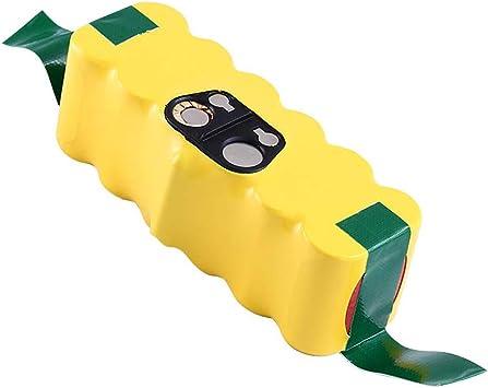 Powayup Baterías de Reemplazo para iRobot Roomba 14.4V 3500mAh Ni-MH Aspiradoras 500 600 700 800 R3 Serie 80501 4419696: Amazon.es: Bricolaje y herramientas