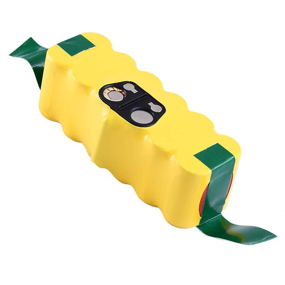 Powayup Baterías de Reemplazo para iRobot Roomba 14.4V 3500mAh Ni-MH Aspiradoras 500 600 700 800 R3 Serie 80501 4419696
