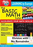 Basic Math Tutor: Division With No Remainder [DVD] [2007] [NTSC] by Jason Gibson