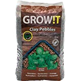GROW!T GMC25L Clay Pebbles 25 Liter Bag, 4mm-16mm
