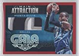 Basketball NBA 2014-15 Gala Main Attraction Memorabilia Crimson #3 Monta Ellis MEM /10 Mavericks