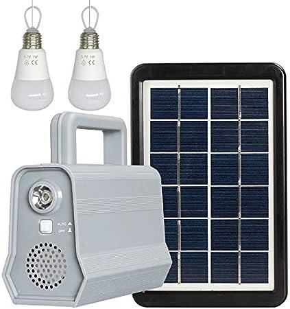 AKDSteel - Luz Nocturna Bluetooth con Panel de alimentación ...