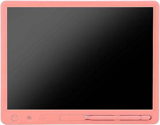 カラー手書き描画ボードLCDライティングボードグラフィックタブレット15ライティングボード、描画タブレット、LCDライティングボード、絵画ギフトを書くため(Pink)