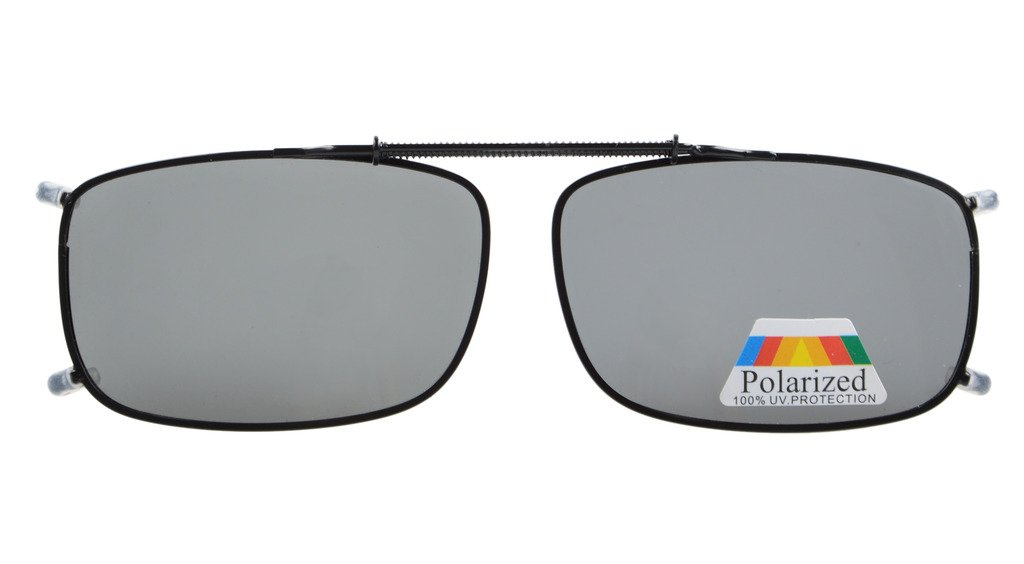 Amazon.com: Solar Shield Polarized Clip-on Sunglasses 54