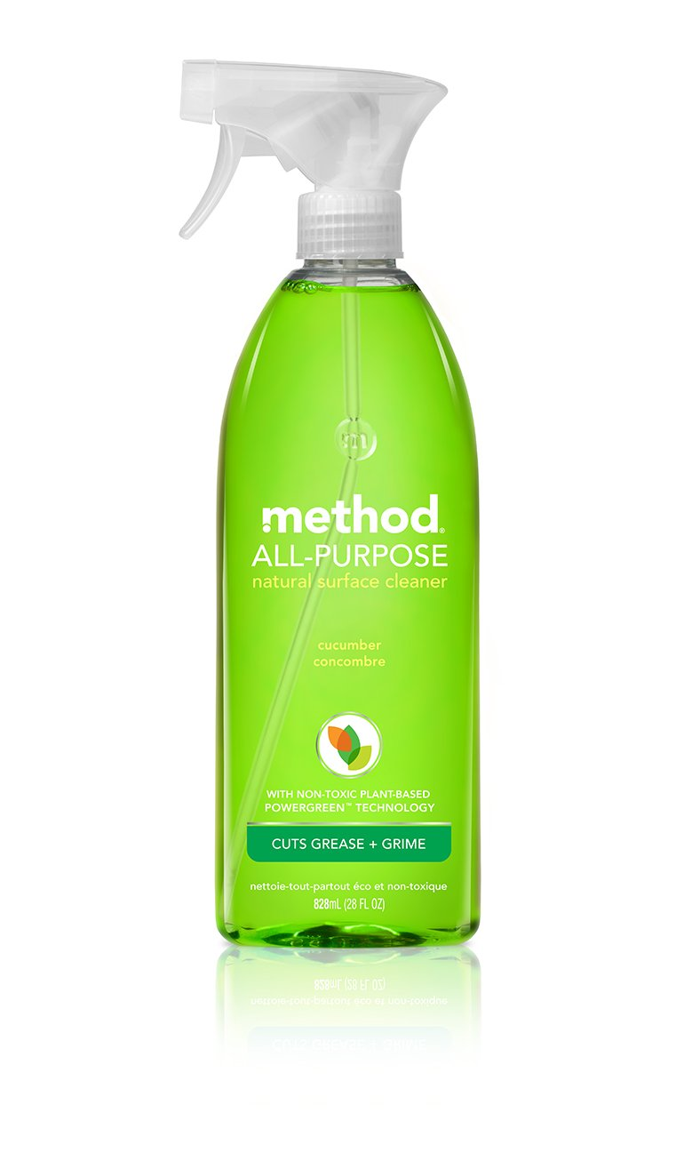 All purpose bathroom cleaner - Amazon Com Method Bathroom All Surface Cleaner Cucumber 28 Fl Oz Method Cleaning Products Office Products