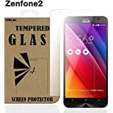 ZenFone Selfie ガラスフィルム 5.5インチ ZD551KL ASUS 液晶保護 透明 強化 国産ガラス使用 ラウンドエッジ加工 Tempered Glass Film クリア [EXMO,Inc.] EX-ZFs-GLASS-CL