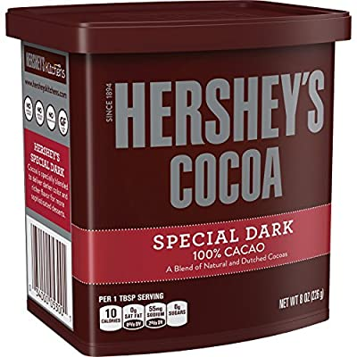 HERSHEY'S SPECIAL DARK Cocoa, 8 Ounce from Hershey's
