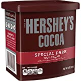 HERSHEY'S SPECIAL DARK Cocoa, 8 Ounce (Pack of 6)