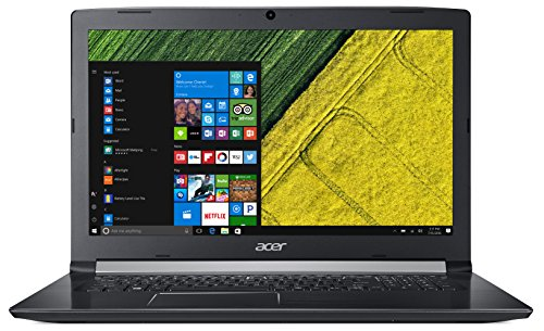 "Acer Aspire 5, 17.3"" HD+, 8th Gen Intel Core i7-8550U, 8GB DDR4 Memory, 1TB HDD, 8X DVD, A517-51-82HA"