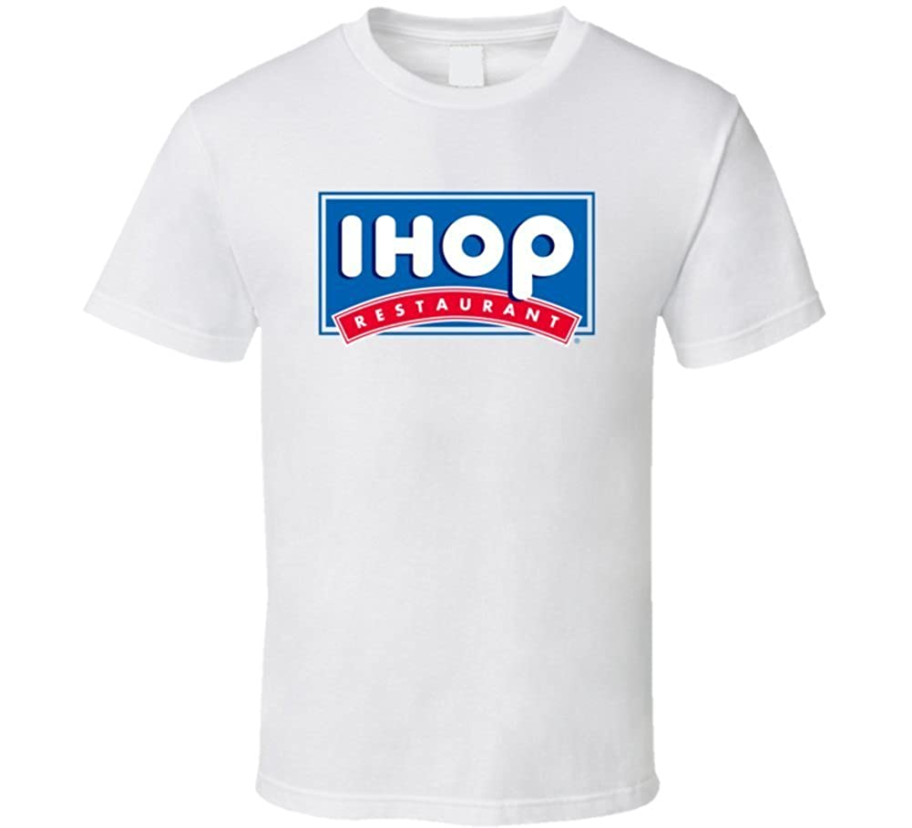 Repents Ihop Restaurant Food Logo T Shirt: Amazon.co.uk: Clothing