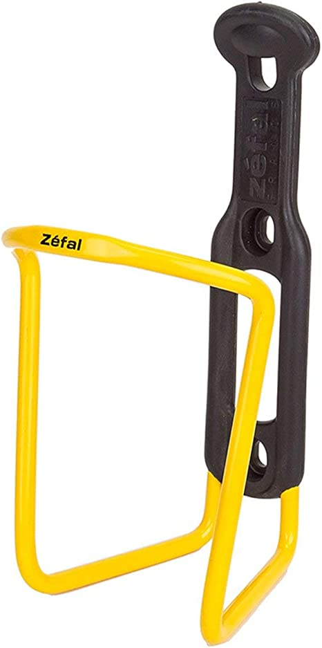 Porta Borraccia ZEFAL 124 alluminio Giallo