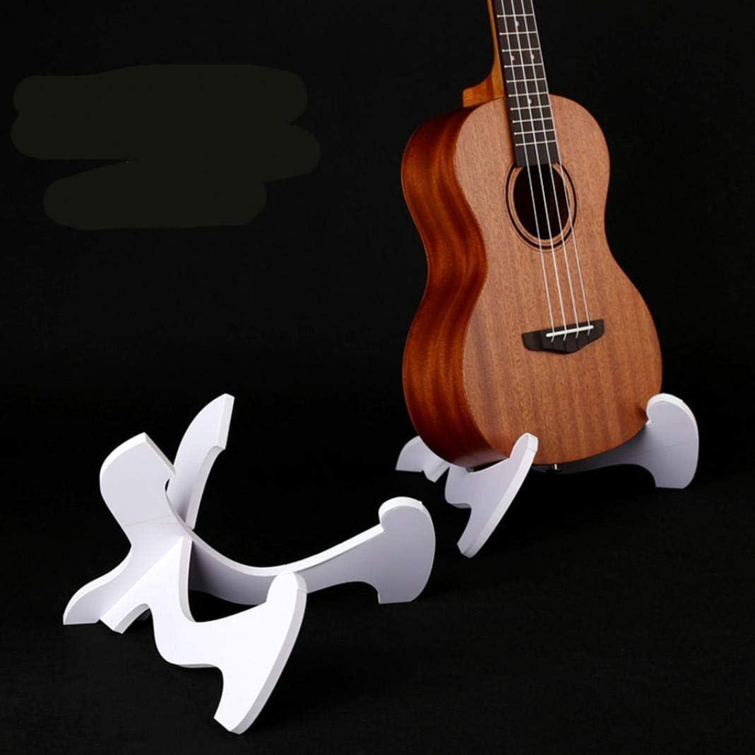 alsu3luy02Ld - Soporte para guitarra, color blanco