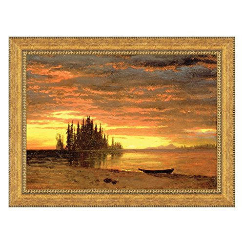 Design Toscano California Sunset, 1868 Canvas Painting Replica: Estate by Design Toscano