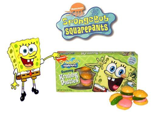 SpongeBob Krabby Patties Concession Box (Pack of 12)