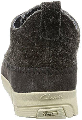 Clarks Originals Détente Homme Chaussures Trigenic Flex En Daim Gris Taille 42