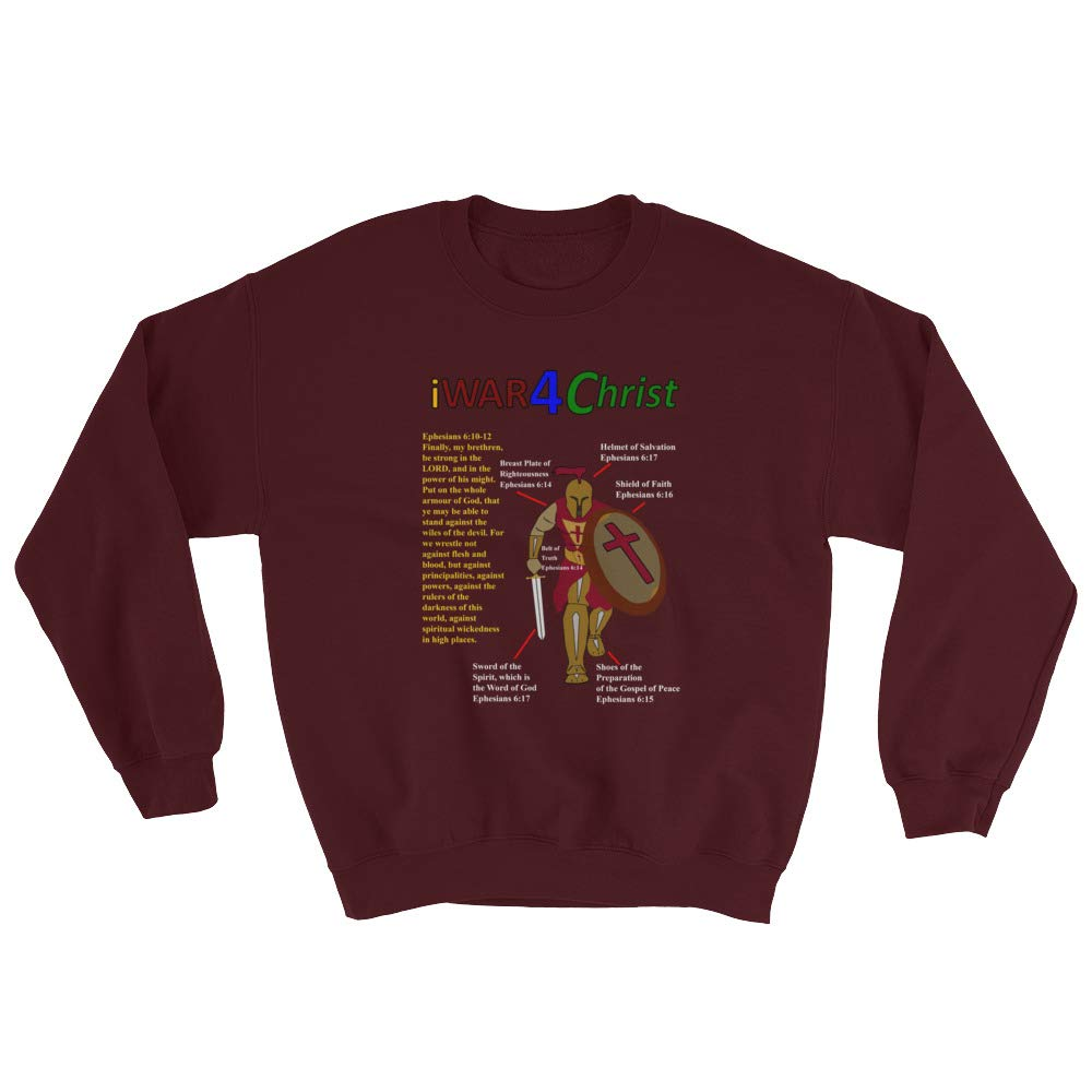 IWAR4 Mens Christ Graphic Sweatshirt
