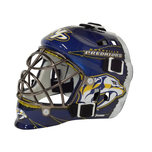 fan products of Franklin Sports NHL League Logo Nashville Predators Mini Goalie Mask