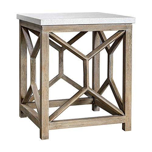 Uttermost Stone End Table