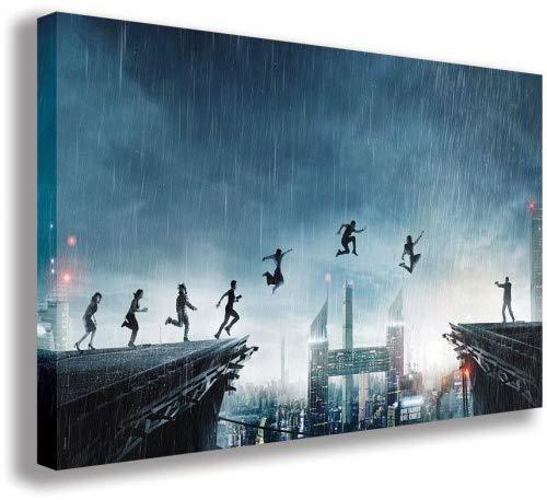Leinwandbild, Motiv Seven Sisters What HAPPENED TO MONDAY , 110 x 65 cm B074Q3TZRK | Genial