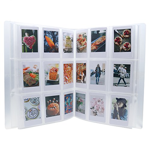 Ablus 288 Pockets Mini Photo Album for Fujifilm Instax Mini 7s 8 8+ 9 25 26 50s 70 90 Film, Name Card & 3 Inch Pictures]()