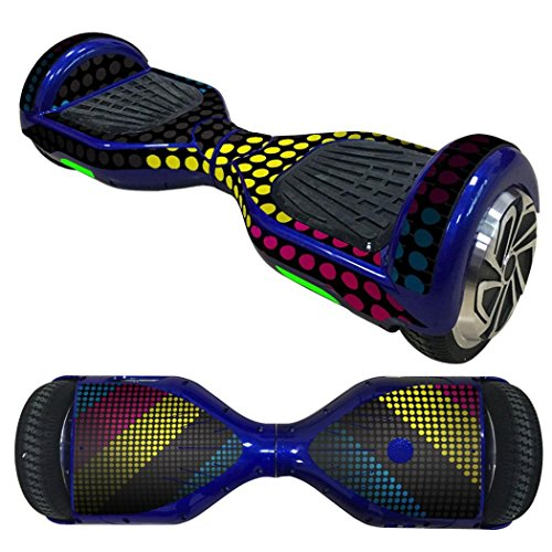 Anboo New Style 2 Wheels Protective Vinyl Skin Decal For 6.5IN model Self Balancing Scooter Hoverboard (M) 6.5' Vinyl