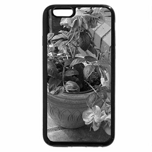 iPhone 6S Case, iPhone 6 Case (Black & White) - Double fuschia