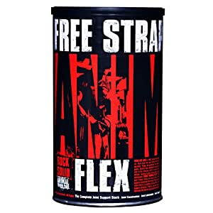 Universal Nutrition Animal Flex (44 Packs) + Free Animal Lifting Straps