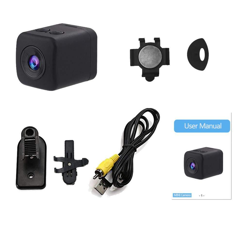 Biback sq19 Mini cámara, 1080p, Micro cámara DVR DV Sensor Registrador dinámico visión Nocturna Full HD 1080p Mini DV: Amazon.es: Electrónica