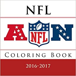 NFL Coloring Book: All 32 NFL American Football team logos to color ...