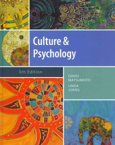 Download Culture and Psychology (Psy 399 Introduction to Multicultural Psychology) ebook