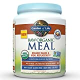 Garden of Life Meal Replacement - Organic Raw Plant Based Protein Powder, Vanilla Chai, Vegan, Gluten-Free, 16 oz (455g) Powder