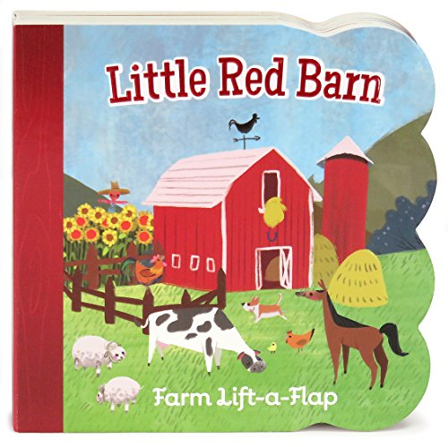 Little Red Barn: Lift-a-Flap Board Book (Babies Love)