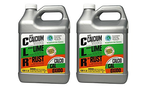 CLR Pro CL-4Pro Calcium, Lime and Rust QBaiR Remover, 1 Gallon Bottle (2 Pack) by CLR