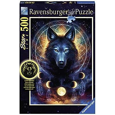 Ravensburger 13970 Puzzle Per Adultilupo Illuminato