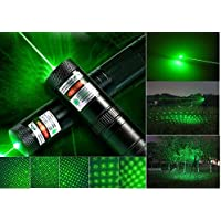 2 PC GD-303 Type Laser Torch Style Focusable High Power 532nm Green Beam Laser Pointer Lazer Projector Pen by Kh.GooDeal