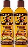 Beauty : Howard Products FW0016 Wood Polish & Conditioner, 16 oz, Orange, 16 Fl Oz - 2 Pack