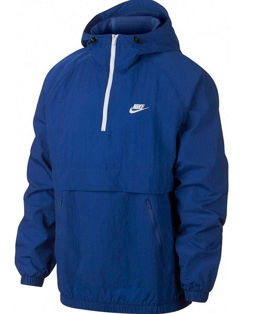 Nike Men's Sportswear Hooded Woven Anorak Jacket Size XXL