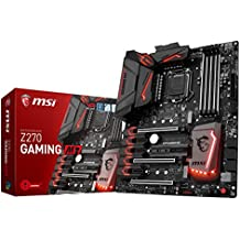 MSI Enthusiastic Gaming Intel Z270 DDR4 VR Ready HDMI USB 3 ATX Motherboard (Z270 GAMING M7)