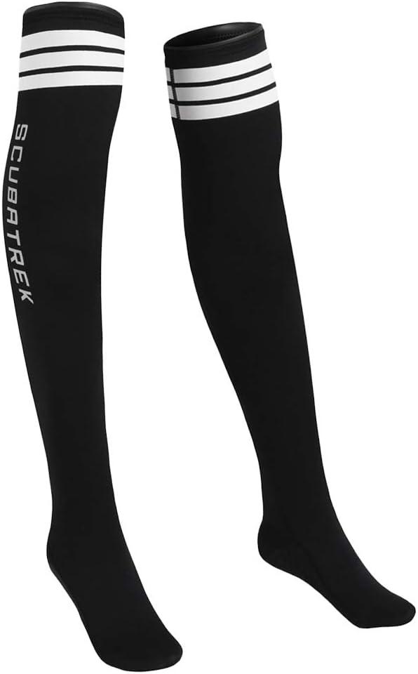 F Fityle Rutschfest Neopren Tauchsocken 1,5 mm Neoprensocken /Überknie Str/ümpfe Kniestr/ümpfe f/ür Wassersport Tauchen Schwimmen Schnorcheln Surfen