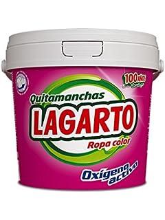 Lagarto Quitamanchas Ropa Color - Paquete de 6 x 600 gr - Total: 3600 gr