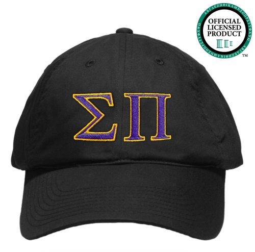 Sigma Pi (Sigma Pi) Embroidered Nike Golf Hat, Various Colors