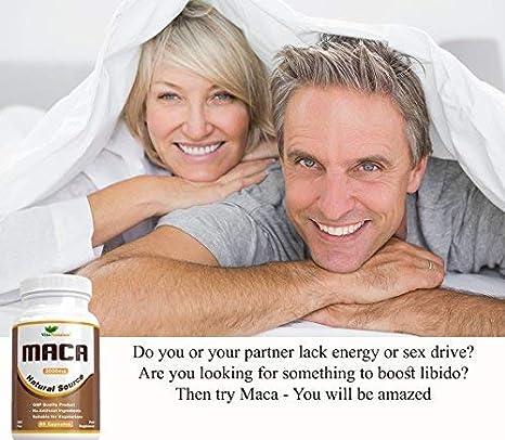 Cápsulas de Raíz de Maca 2000 mg - Extracto de Alta Potencia: Amazon.es: Salud y cuidado personal