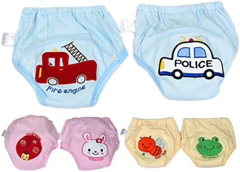 YuanDian Baby Sommer Trainingshose Toilettentraining Unterhosen T/öpfchen Trainingshose M/ädchen Jungen Wasserdicht Kinder Unterw/äsche Trainerhose