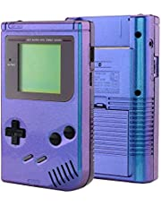 eXtremeRate Chameleon Purple Blue Case Cover Replacement Full Housing Shell for Gameboy Classic 1989 GB DMG-01 Console with w/Screen Lens & Buttons Kit - Handheld Game Console NOT Included