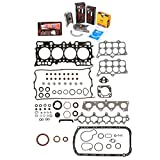 Evergreen Engine Rering Kit FSBRR4016\0\0\0 93-96 Honda Prelude 2.2 H22A1 Full Gasket Set, Standard Size Main Rod Bearings, Standard Size Piston Rings