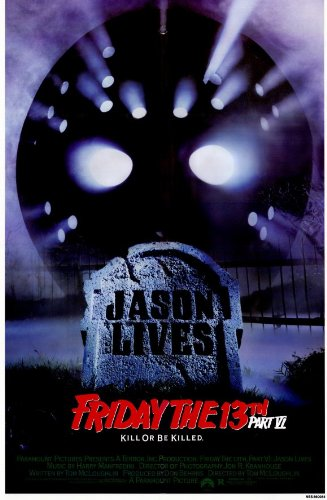 Friday the 13th Part 6 Jason Lives 11 x 17 Movie Poster - Style A